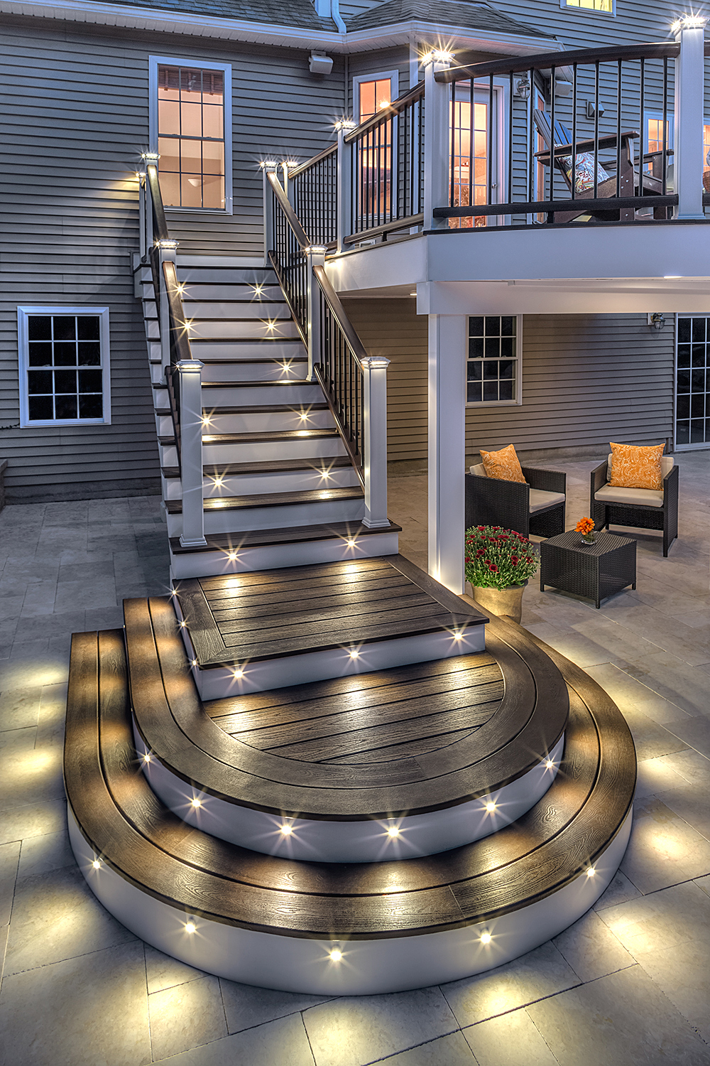 Deck Lighting Installation In New Hampshire Professional